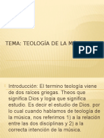 Teologia de La Musica
