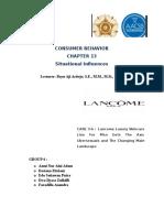 Case 3-6 Lancome