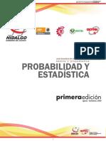 Probabilidad y Estadistica 2009