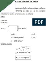 182618401 Ejercicios Resueltos Del Circulo de Mohr