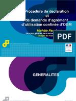 Presentation OGM Janvier 2014