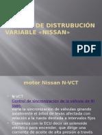 distribucion variable nissan