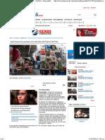 30-05-16 Ambulantes Sin Permiso Son Retirados Del Festival Del Pitic - Hermosillo