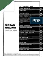 23810450 nissan maxima a32 workshop manual clutch automatic rh scribd com Nissan Service Manuals PDF Nissan Altima Owner's Manual