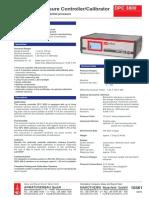 Armaturenbau-Calibrador Vacuometro