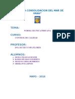 Norma Tecnica Peruana Caña de Azucar