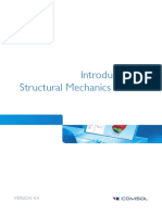 COMSOL 4.3b - Introduction to Structural Mechanics Module