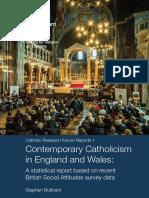 2016 May Contemporary Catholicism Report