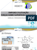 Aula Empuxo e Corpos Submersos e Flutuantes