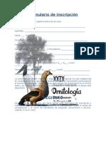 Formulario de Inscripcion ENO 2016