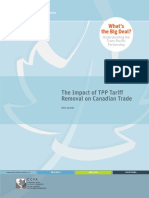 CCPA - Impact of TPP Tariff Removal