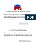 REPUBLICAN - Notice of Primary Runoff Election Canvass (2)