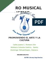 RESUMEN EJECUTIVO DE UNA ESCUELA DE MUSICA.docx