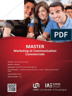 Master Marketing Et Communication Commerciale
