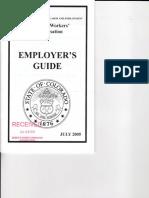 Workers' Comp Handbook Guidance