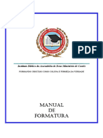 Manual Formatura