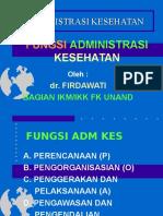 fungsi & administrasi kesehatan
