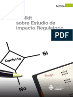 Toolkit Sobre Estudio de Impacto Regulatorio
