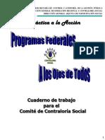 Cuaderno de Trabajo Contraloria Social