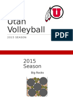 2015 Utah Volleyball Priorities v1