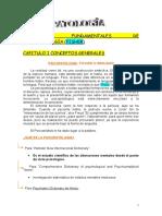 Psicopatología 1 resumen de toda la materia