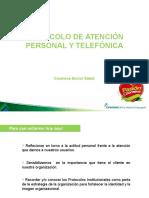 Protocolo de Atención Por Teléfono