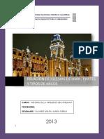 Relacion de Iglesias de Lima Partes y Ti