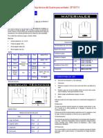 f.técnica Guante Para Soldar Sf100-t11