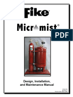 FIKE P/N 06-153 Micromist Design Manual
