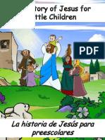 La Historia de Jesús Para Preescolares - The Story of Jesus for Preschoolers