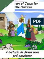 A História de Jesus Para Pré-escolares - The Story of Jesus for Preschoolers