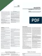 Maxsys Escort4580 V1.3 - Manual Instalare.pdf