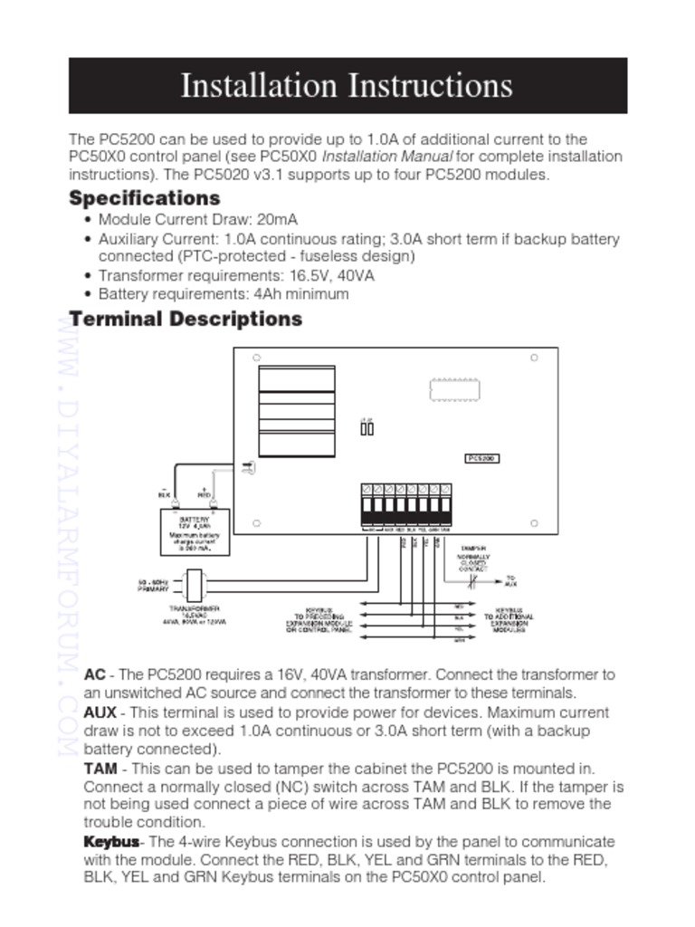 pc5200 manual user product user guide instruction u2022 rh testdpc co