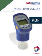 Lubmarine Rapid Oil Test Gauge (UK)