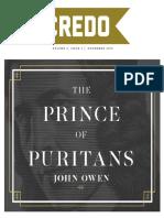 Prince of Puritans-John Owen