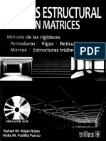Analisis Estructural Con Matrices Rafael M Rojas