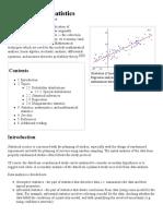 Mathematical Statistics - Wiki