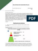 Nuevo Modelo de Desarrollo Sustentable Peruano