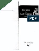 2013 JCV. Arte y Método Del Trabajo Universitario