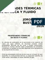 Propiedades Termicas de La Roca 2016