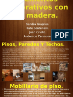 Elementos Decorativos Con La Madera