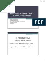 Tecnicas de Interrogatorio - Patricia Gamez