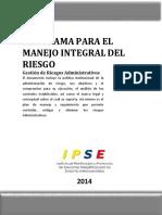 Matriz Riesgos Administrativos Entidad 2014