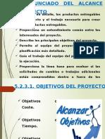 5.2.3. ENUNCIADO DEL ALCANCE DEL PROYECTO
