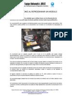 Precauciones Al Reprogramar Un Modulo (1)