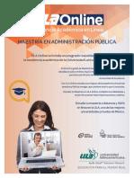 Maestria Admon Publica Online Marzo30