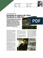 Noticia Investimento Em Seguranca Sobe. Quebra Desconhecida No Retalho Desce 01.12.10