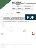 Informe perforación y voladura mina la esmeralda, Los Patios Norte de santander - Colombia