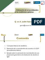 Metrologia Quimica Basica VI Incertidumbre