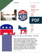 voting newsletter